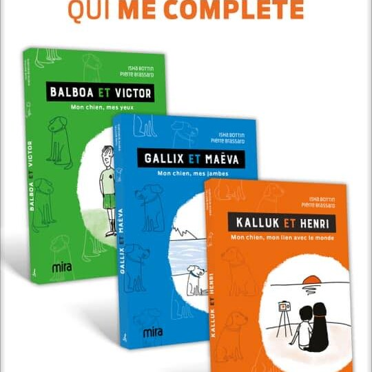 Série de 3 livres. Écrit par Isha Bottin et illustré par Pierre Brassard